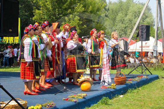 Velyki Sorochyntsi -August 20, 2016: National musical...