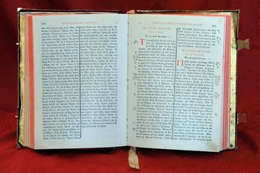 Ancient Greek Orthodox Holy Bible from the 18th century