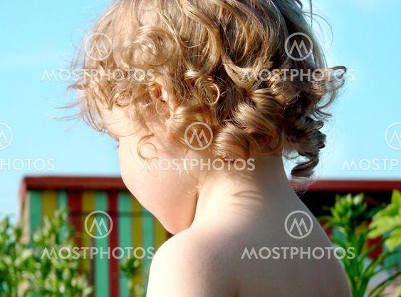 Little baby's curls