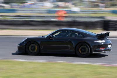 Svart Porsche