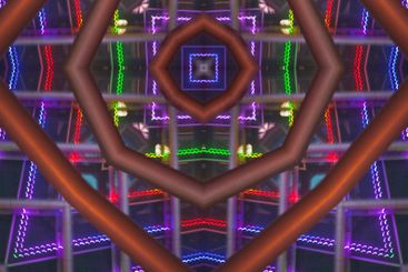 Mystical geometric pattern of, mandala, design detail,...