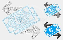 Euro Banknotes Payments Vector Mesh 2D Model and...