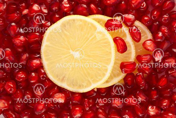 Sitruunaviipaleita Granaattiomena seeds