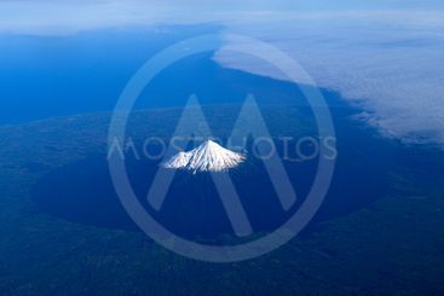 Mount Taranaki or Mount Egmont of New Zealand