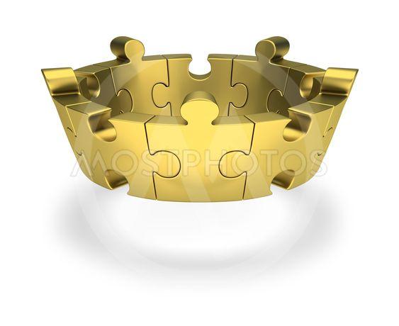puzzle crown