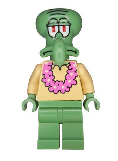 Squidward Spongebob Squarepants Lego Minifigure