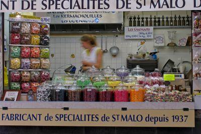 St-Malo, multicolored specialites