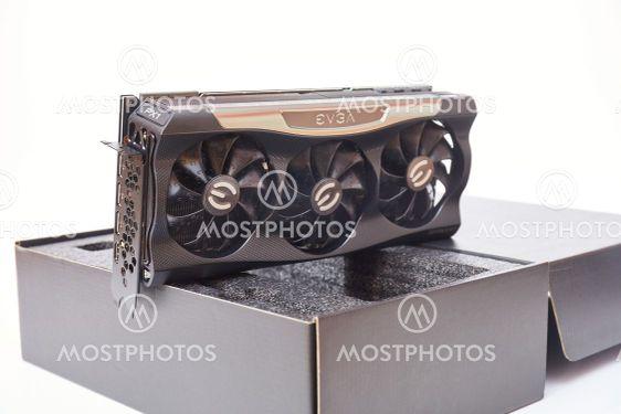 EVGA Geforce RTX 3090 Nvidia GPU display