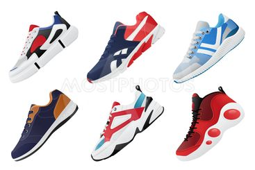 New Fitness sneakers set, fashion shoes for training...