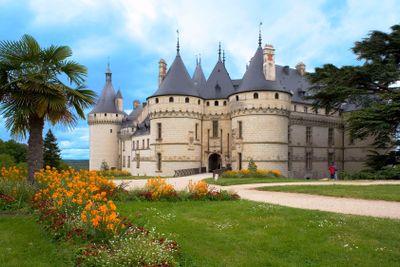 chaumont castle, touraine, france