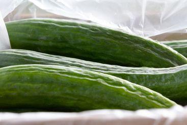 Kravodlade nyttiga grönsaker till salu i ett torgstånd