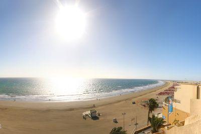 Bahia Feliz beach panorama