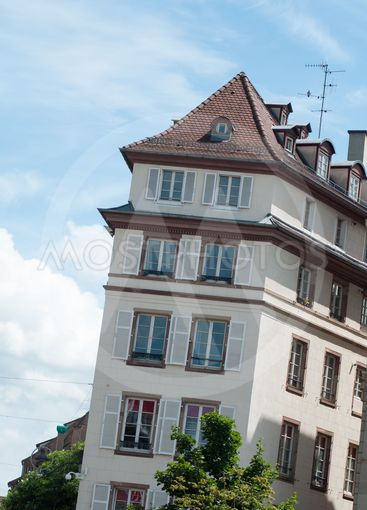 traditional architecture at Kleber place in...