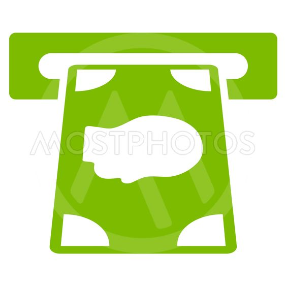 Cashpoint Flat Vector Icon