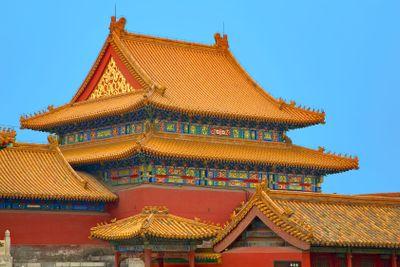 china,beijing : forbidden city