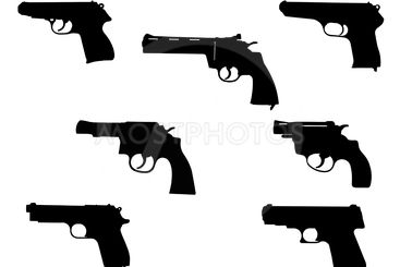 handgun silhouette collection