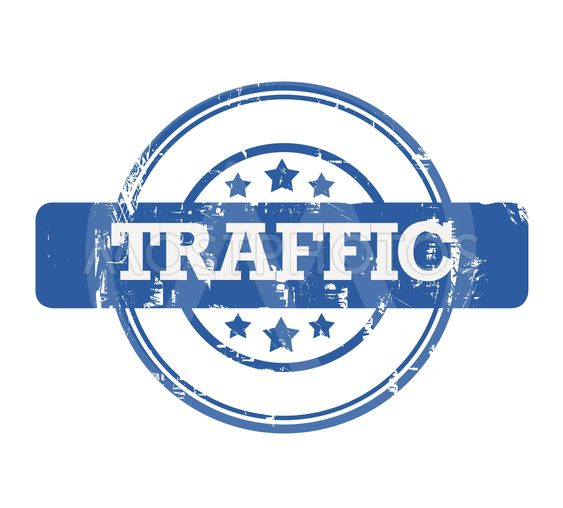 SEO Traffic stamp
