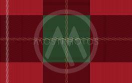 Red and green tartan plaid Scottish seamless pattern