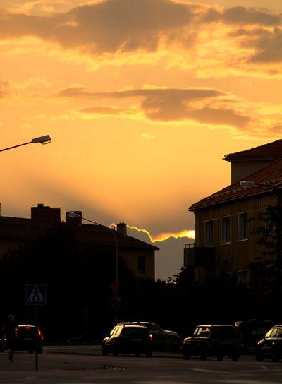 Sunset at Stalfors