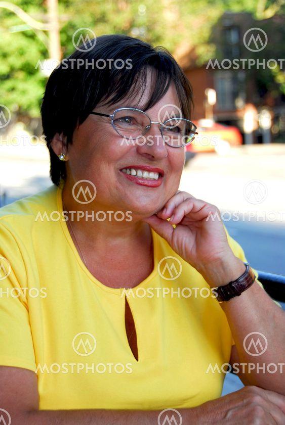 Mature woman portait