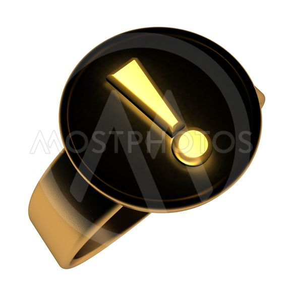 Exclamation ring