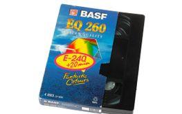 BASF VHS tape cassette EQ 260