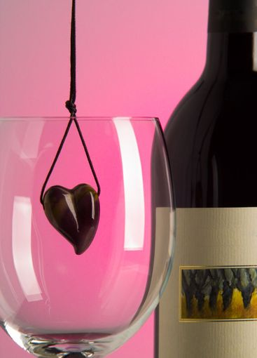Heart and wine