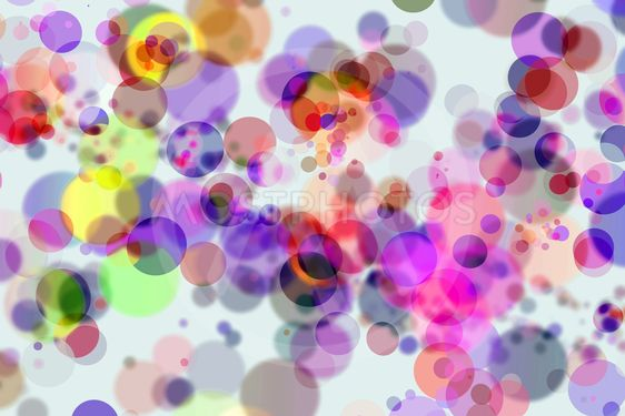 Colorful Bokeh Circles