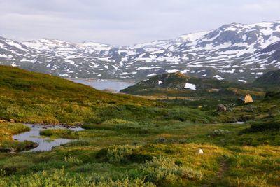 Beautiful Norway mountain landscape