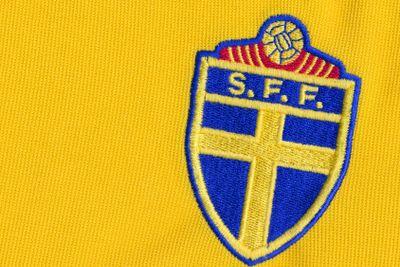 SFF logga på fotbollströja