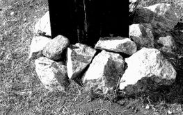 very old grave