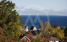 Vätterutsikt med Visingsö i fjärran  (Sweden)