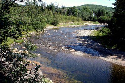 Fresh water river