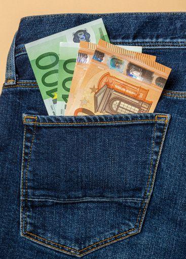 cash in the back pocket