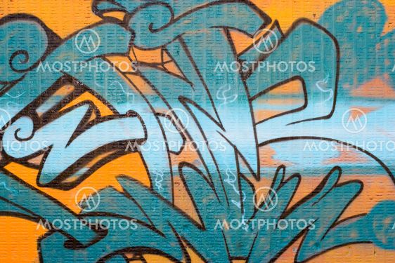 Graffitien Spraypaint