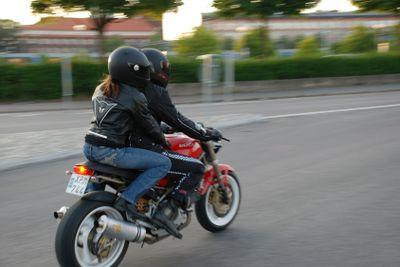 Motorcykel på Power Big Meet 07