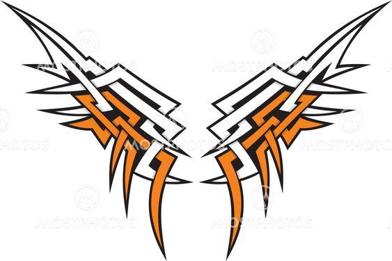 Wings tribal