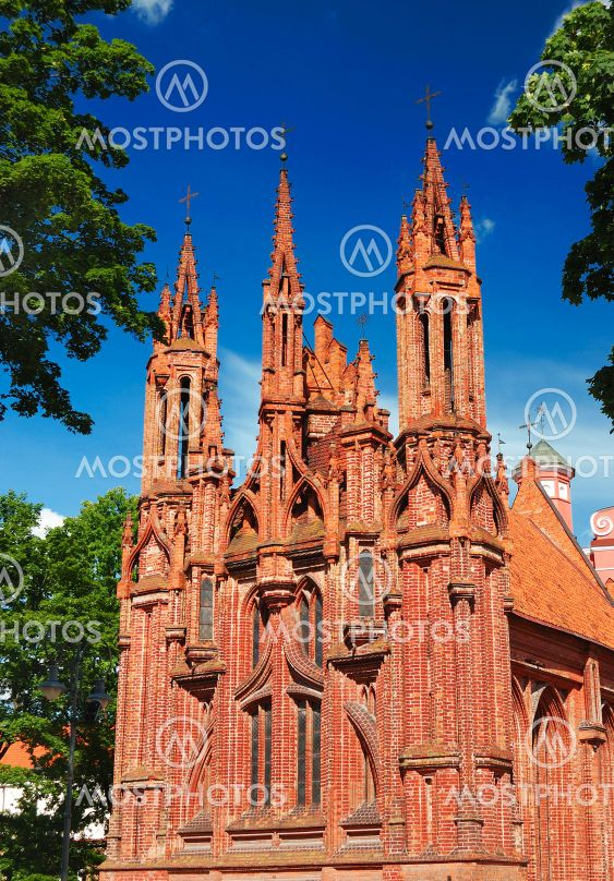 St. Anne kirkko Vilnius