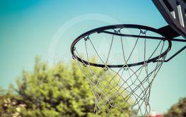 hoop of the basket over sky