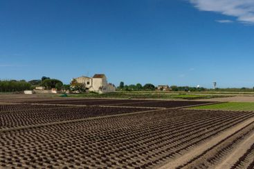 agriculture farm on the outskirts of barcelona