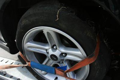 Tide up tyre