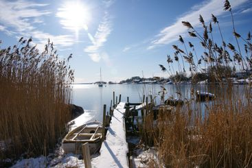 Sparkling winter's day in the archipelago