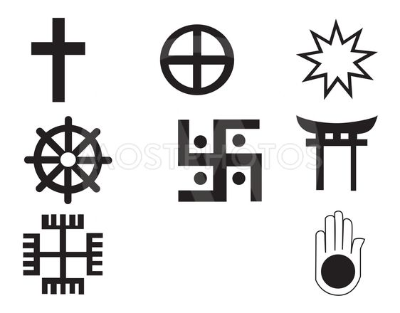 Different symbols - symbols are fully scalable