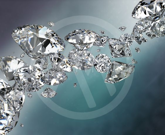 abstract background with diamonds