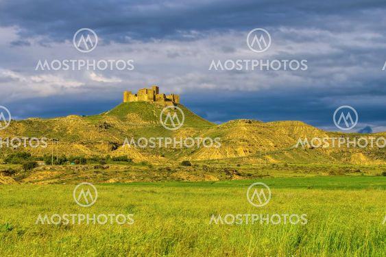 Castillo de Montearagon near Huesca in Spain