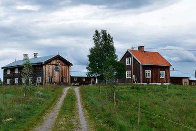 Old barn houses