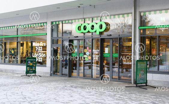 Coop - matvarubutik i Älvsjö