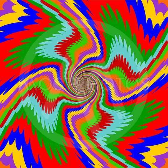 Design multicolor swirl rotation background. Abstract...
