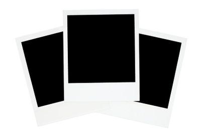 Three Old-fashioned Photo Frames