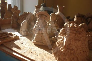 Children's products of clay